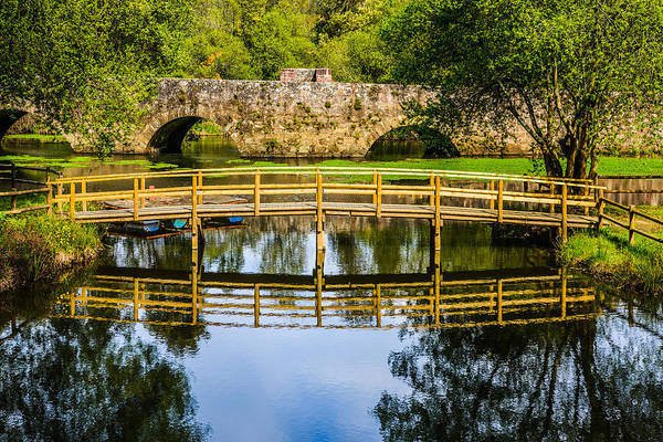 Wall Art - Photograph - Picnic Area In The Marnel River II by Marco Oliveira