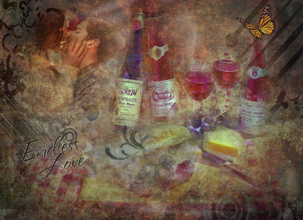 Digital Art - Picnic Basket To Remember by Gary De Capua