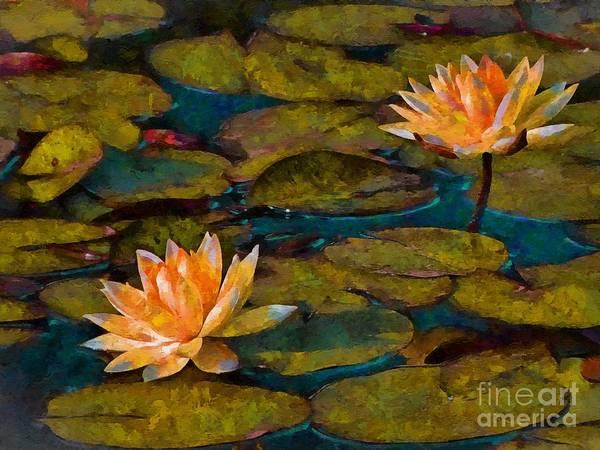 Photograph - Picnic By The Pond by John  Kolenberg