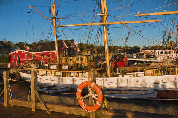 Photograph - Picton Castle Tall Ship Of Lunnenburg Nova Scotia by Ginger Wakem