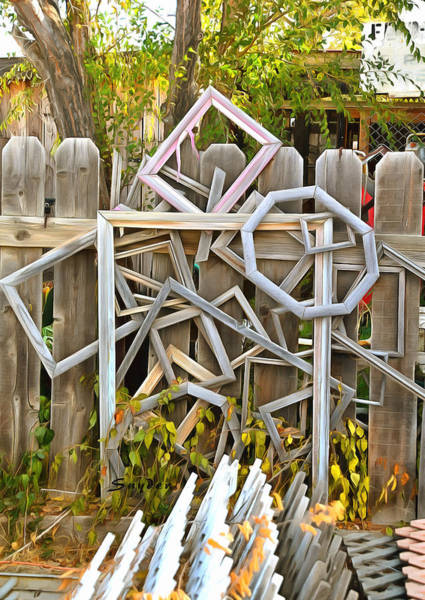 Photograph - Picture Frame Art Sculpture Cuyama by Floyd Snyder