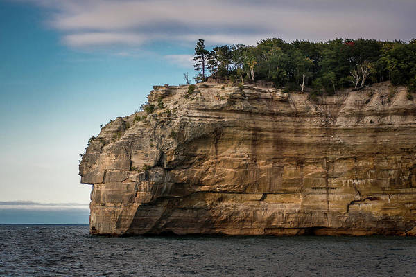 Photograph - Pictured Rocks National Lakeshore by William Christiansen