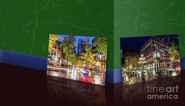 Wall Art - Photograph - Pictures Of Vancouver From Art Gallery Green Marble Room by Viktor Birkus