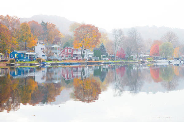 Autumn In New England Photograph - Picturesque Autumn by Karol Livote