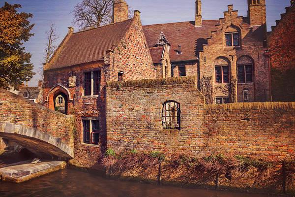 Belgian Photograph - Picturesque Bruges  by Carol Japp