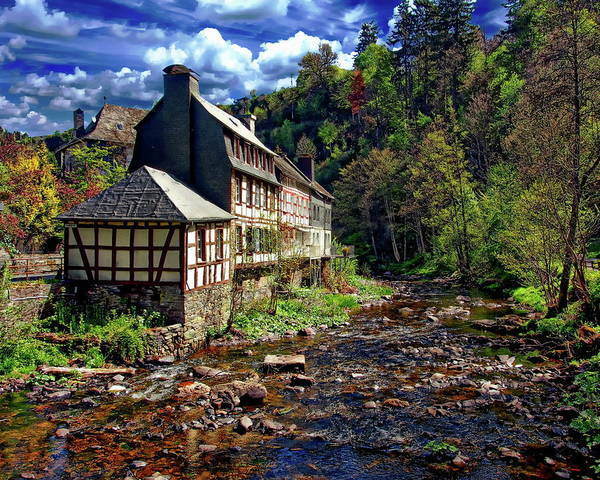 Photograph - Picturesque Half-timbered House by Anthony Dezenzio