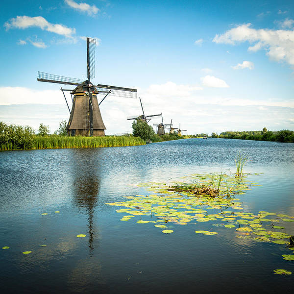 Photograph - Picturesque Kinderdijk by Hannes Cmarits