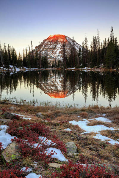 Uinta Photograph - Picturesque Lake by Johnny Adolphson