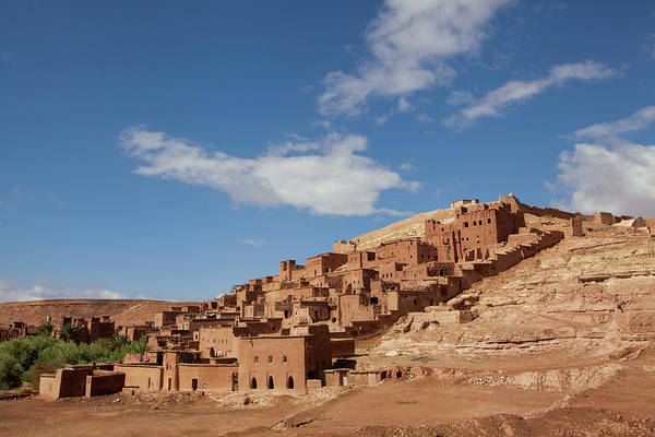 Ait Benhaddou Photograph - picturesque mountain village Ait Ben Haddou which is under prote by Tjeerd Kruse