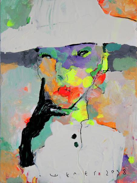 Wall Art - Painting - piece N1 by Viktor Sheleg