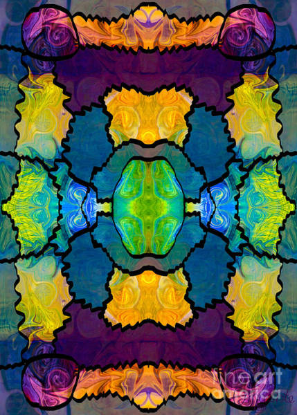 Digital Art - Pieces Of The Puzzle Organic Bliss Designs by Omaste Witkowski