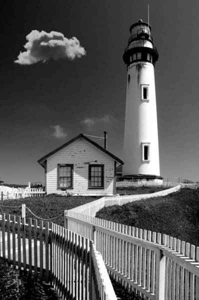Wall Art - Photograph - Piegon Point Lighthouse by Greg Waters