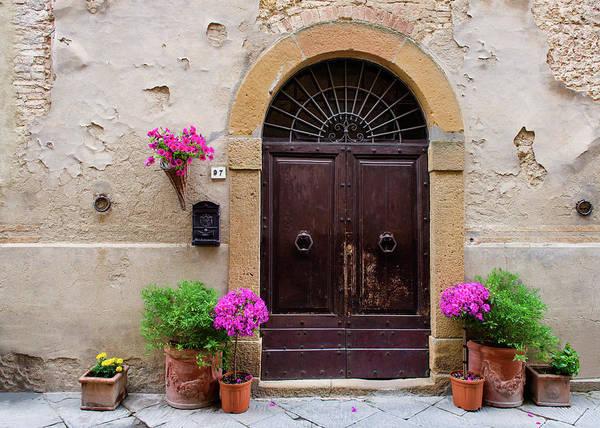 Photograph - Pienza Doorway by Michael Blanchette
