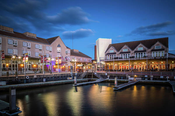 Wall Art - Photograph - Pier 21 Blue Hour by Tom Weisbrook