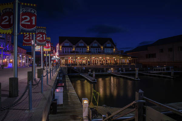Wall Art - Photograph - Pier 21 by Tom Weisbrook