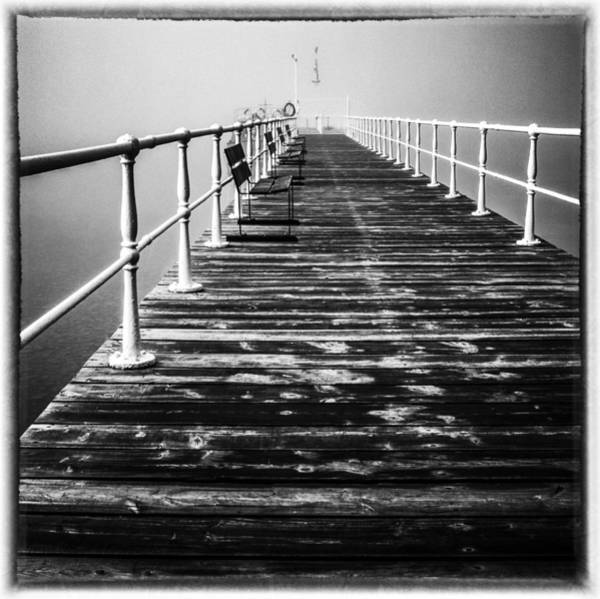 Photograph - Pier At Pooley Bridge On Ullswater In The Lake District by Neil Alexander
