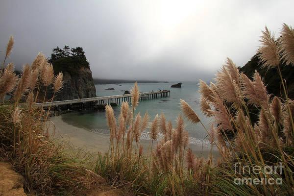 Photograph - Pier At Trinidad Bay, Trinidad, Ca  Oct. 5, 2015 by California Views Archives Mr Pat Hathaway Archives