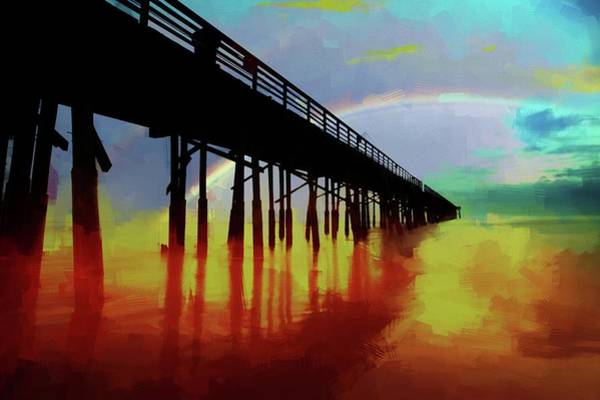 Photograph - Pier Colors by Alice Gipson