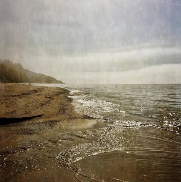 Photograph - Pier Cove Creek Mouth At Lake Michigan 2.0 by Michelle Calkins