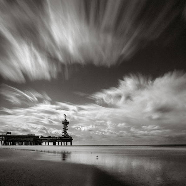 Piers Wall Art - Photograph - Pier End by Dave Bowman