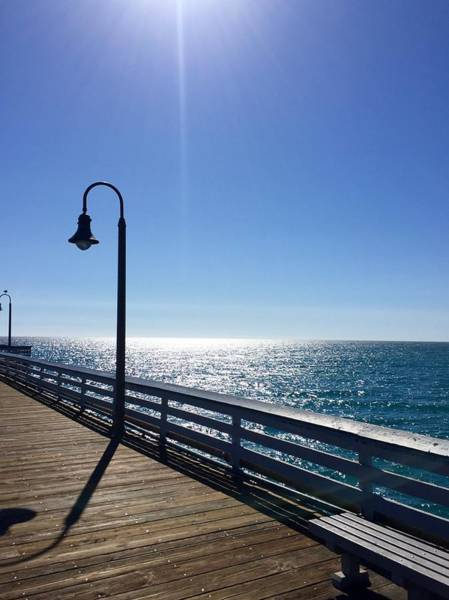 Photograph - Pier Gazing by Brian Eberly