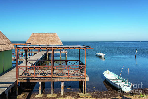 Wall Art - Photograph - Pier In Champoton, Mexico by Jess Kraft