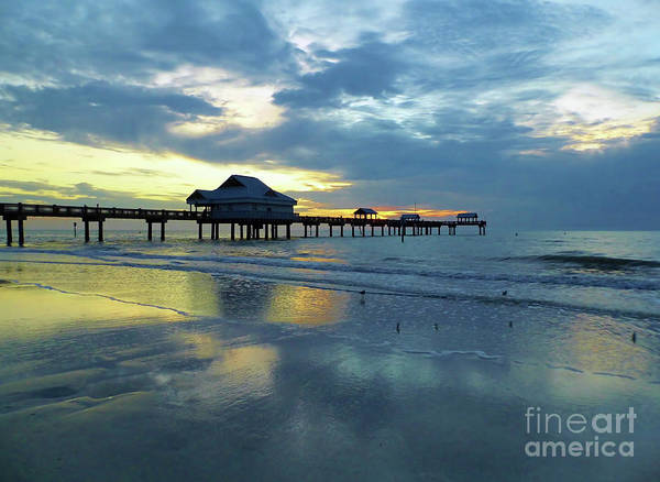 Photograph - Pier In Pastel by D Hackett