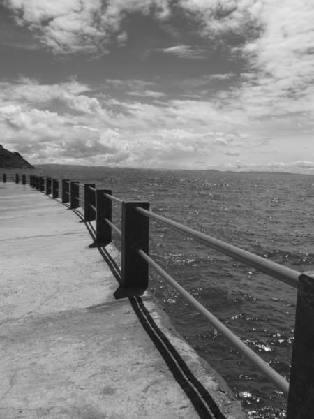 Wall Art - Photograph - Pier In Peru by Charlotte Talwar