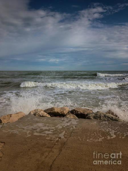 Photograph - Pier In Rimini by Marina Usmanskaya