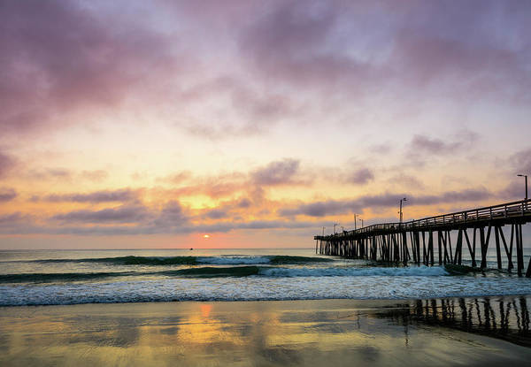 Photograph - Pier Into The Morning by Michael Scott