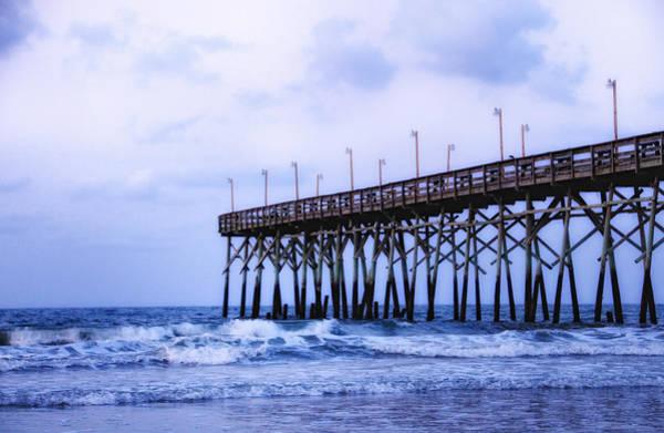 Pier Into The Sea Art Print