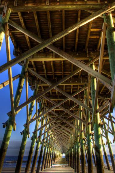 Wall Art - Photograph - Pier Lines by Drew Castelhano