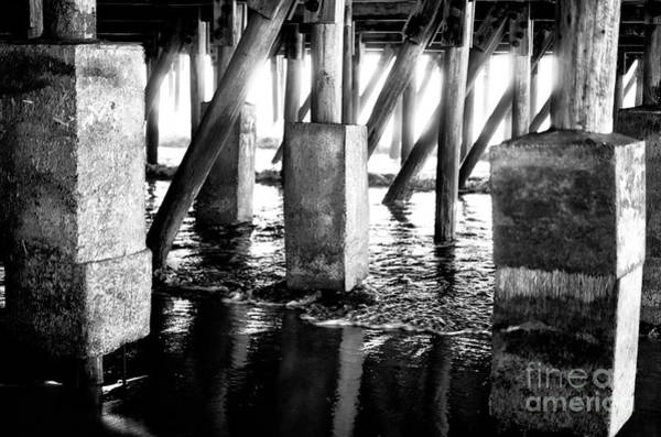 Photograph - Pier Maze by John Rizzuto