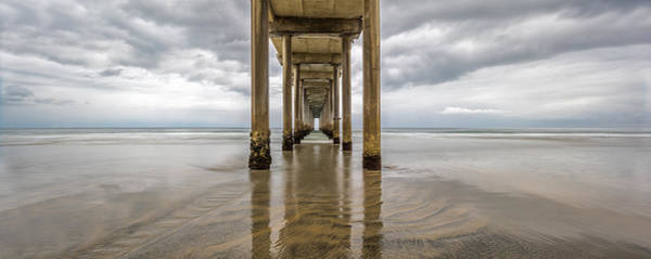 Art Print featuring the photograph Pier Review by Dustin  LeFevre