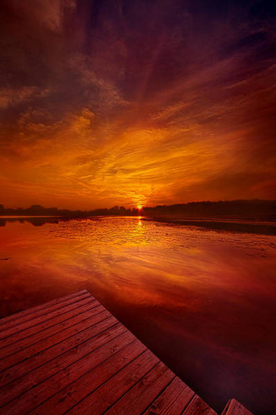 Photograph - Pier Sittin by Phil Koch
