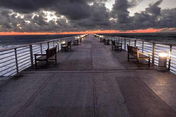 Photograph - Pier To Nowhere by Ed Clark