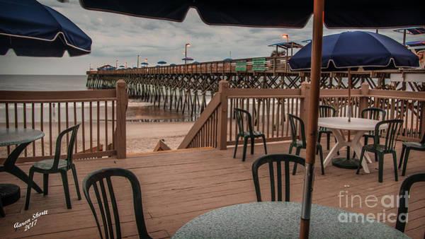 Wall Art - Photograph - Pier View From Deck by Aaron Shortt