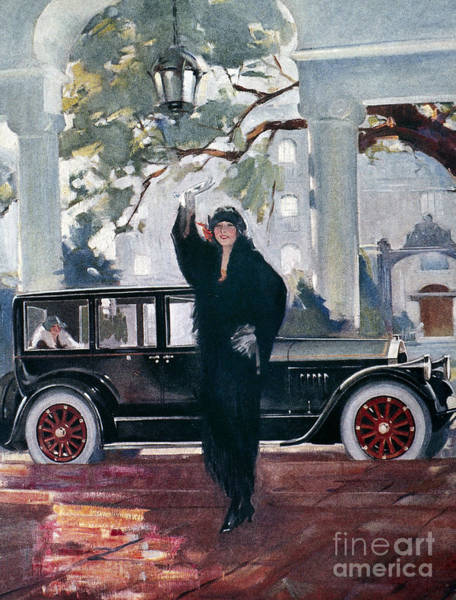 Photograph - Pierce-arrow Ad, 1925 by Granger
