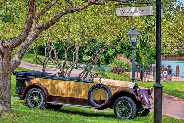 Photograph - Pierce - Arrow Model 33 Touring Car by Susan Rissi Tregoning