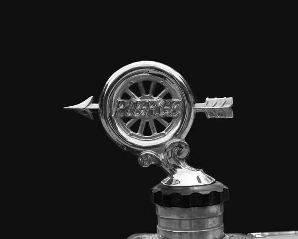 Photograph - Pierce - Arrow Radiator Cap by Susan Rissi Tregoning