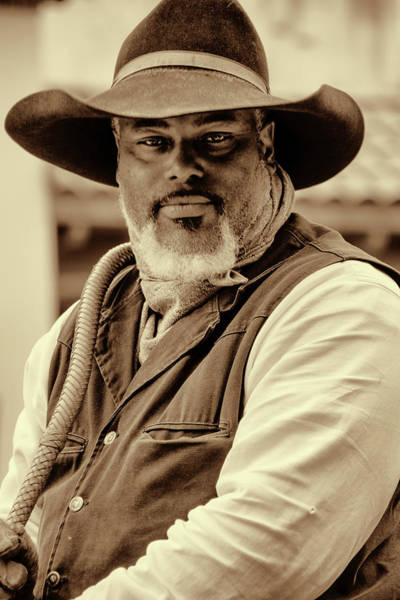 Photograph - Piercing Eyes Of The Cowboy by Jeanne May