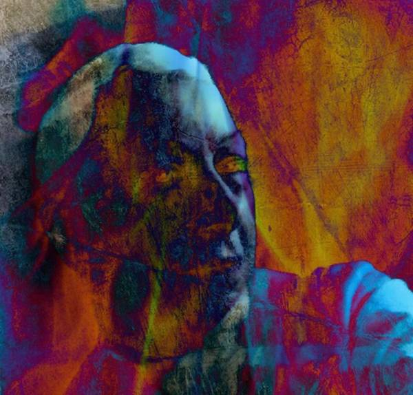 Wall Art - Digital Art - Piercing Light by Lessandra Grimley