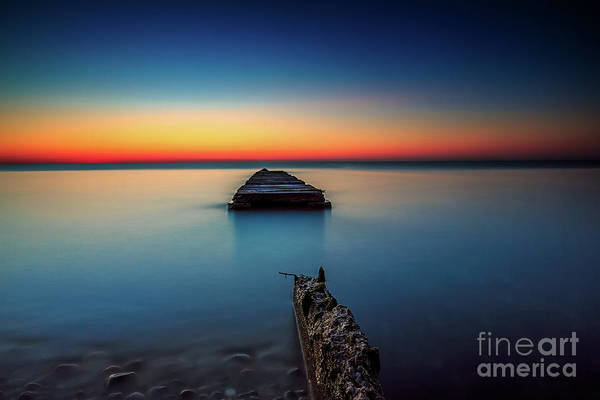 Mke Photograph - Piering Along by Andrew Slater