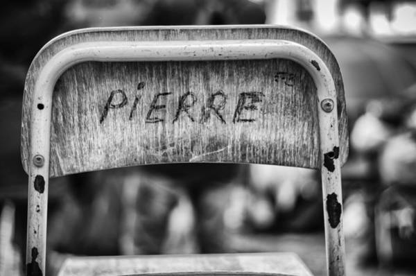 Wall Art - Photograph - Pierre by Pablo Lopez