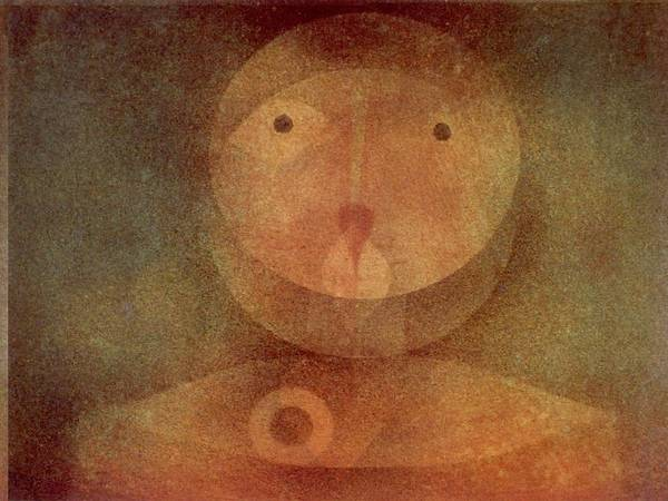 Painting - Pierrot Lunaire By Paul Klee 1924 by Paul Klee