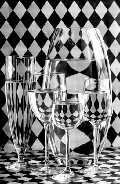 Greyscale Photograph - Pierrot by Maggie Terlecki
