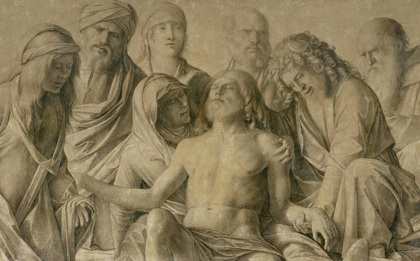 Sacrifice Painting - Pieta by Giovanni Bellini