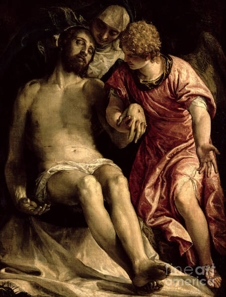 Wall Art - Painting - Pieta by Veronese