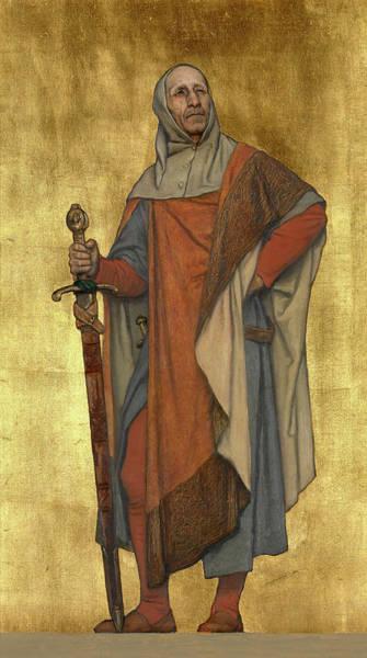 Knights Templar Photograph - Pieter De Coninck by Albert De Vriendt