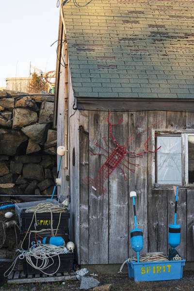 Photograph - Pigeon Cove Shack Rockport Ma by Toby McGuire